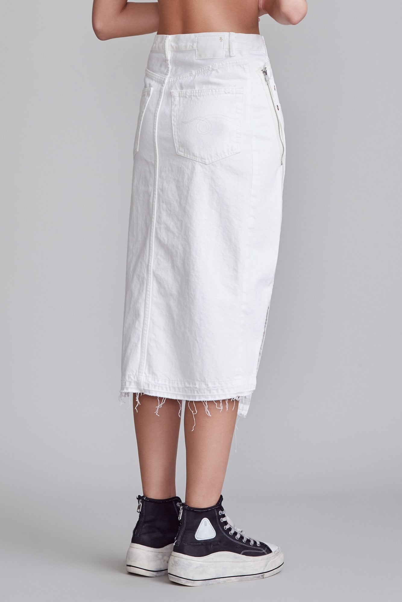 Lita Skirt - Nico White