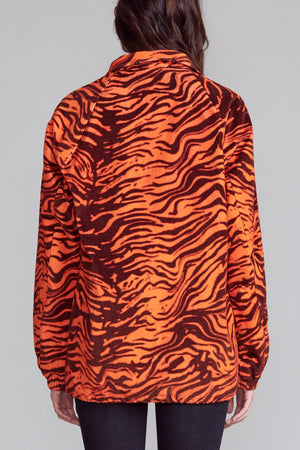 Coach Jacket - Orange Tiger