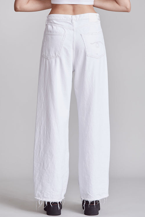 DAMON PLEATED WIDE LEG - HOLDEN WHITE