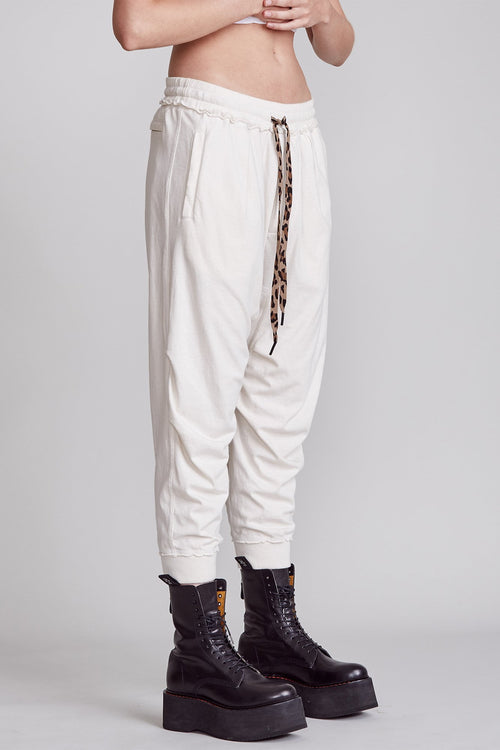 HAREM SWEATPANT - DIRTY WHITE