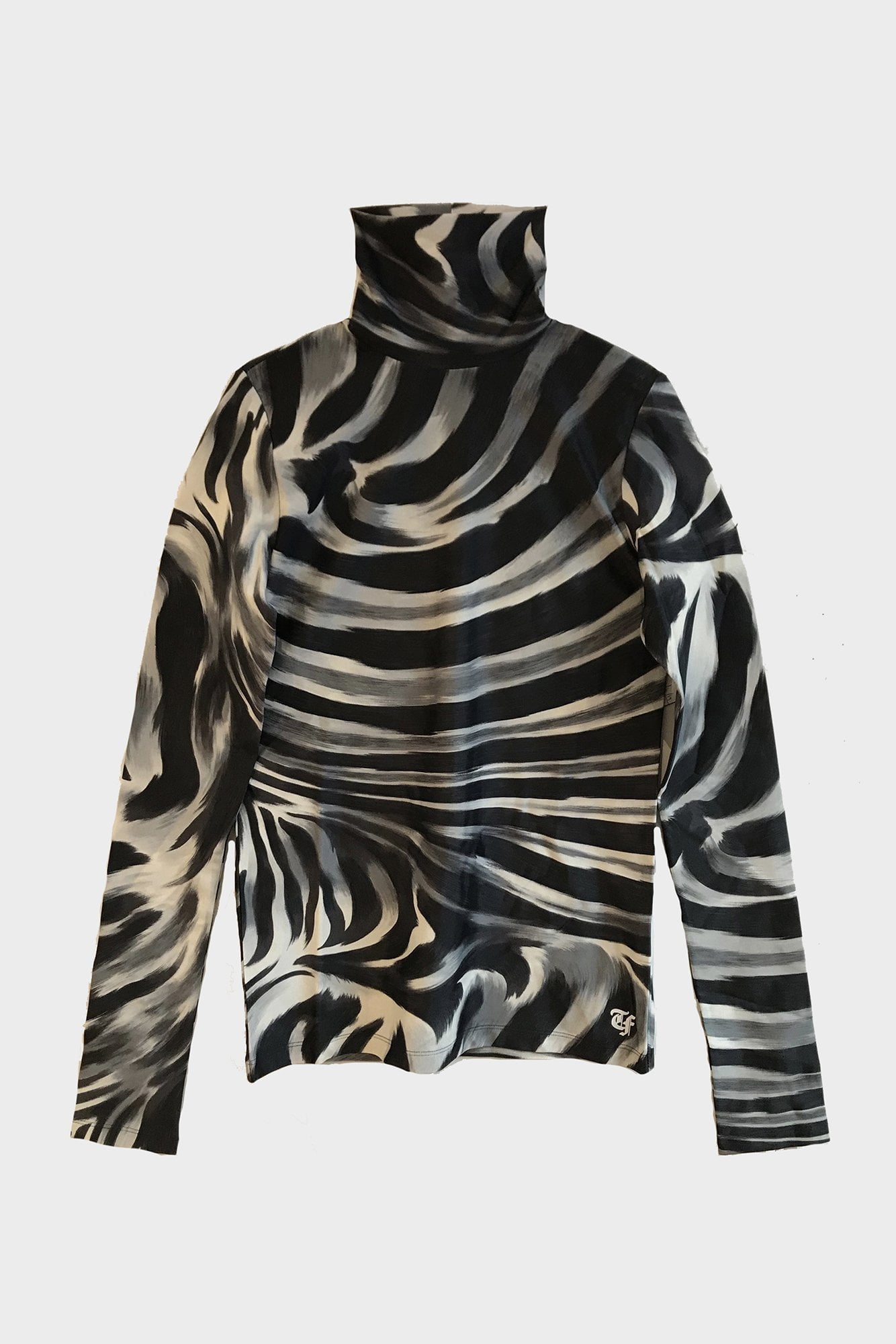 Turtleneck - Grey Zebra