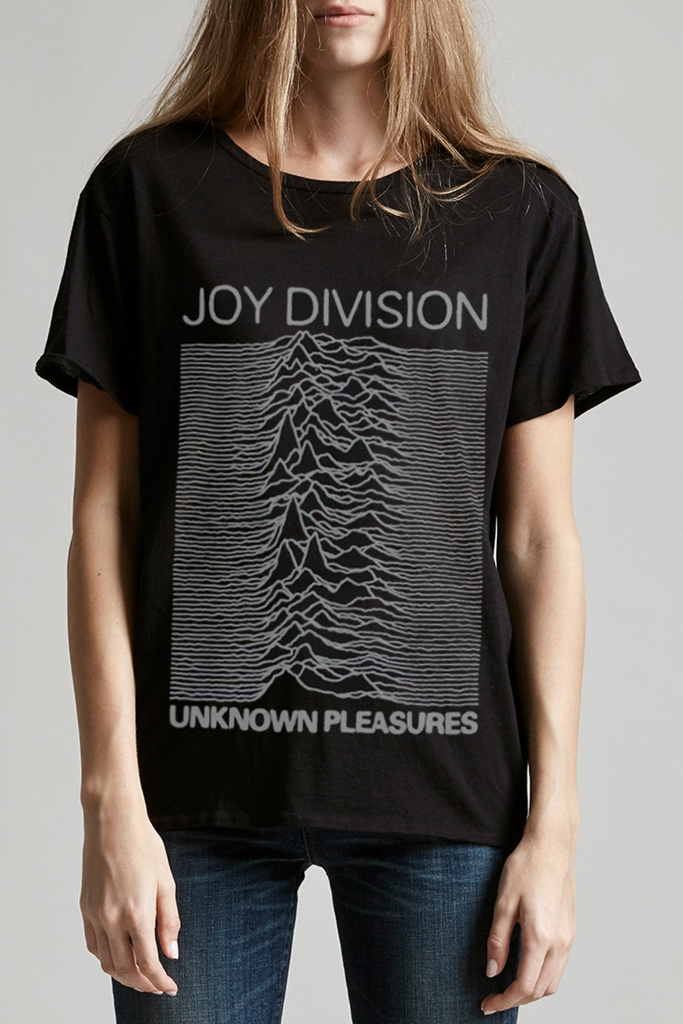 Joy Division Graphic Boy T Washed Black