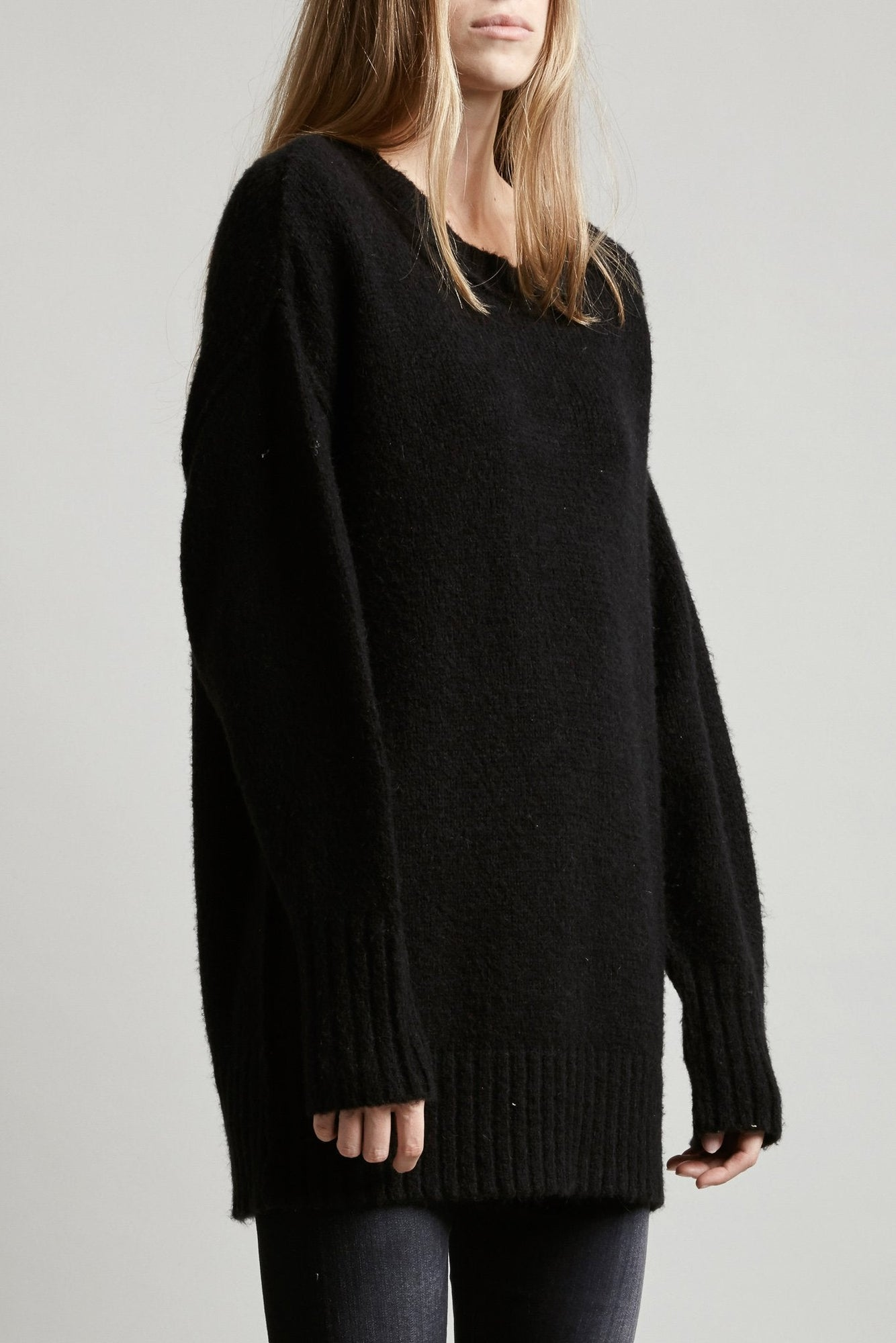 Oversized Crewneck Sweater
