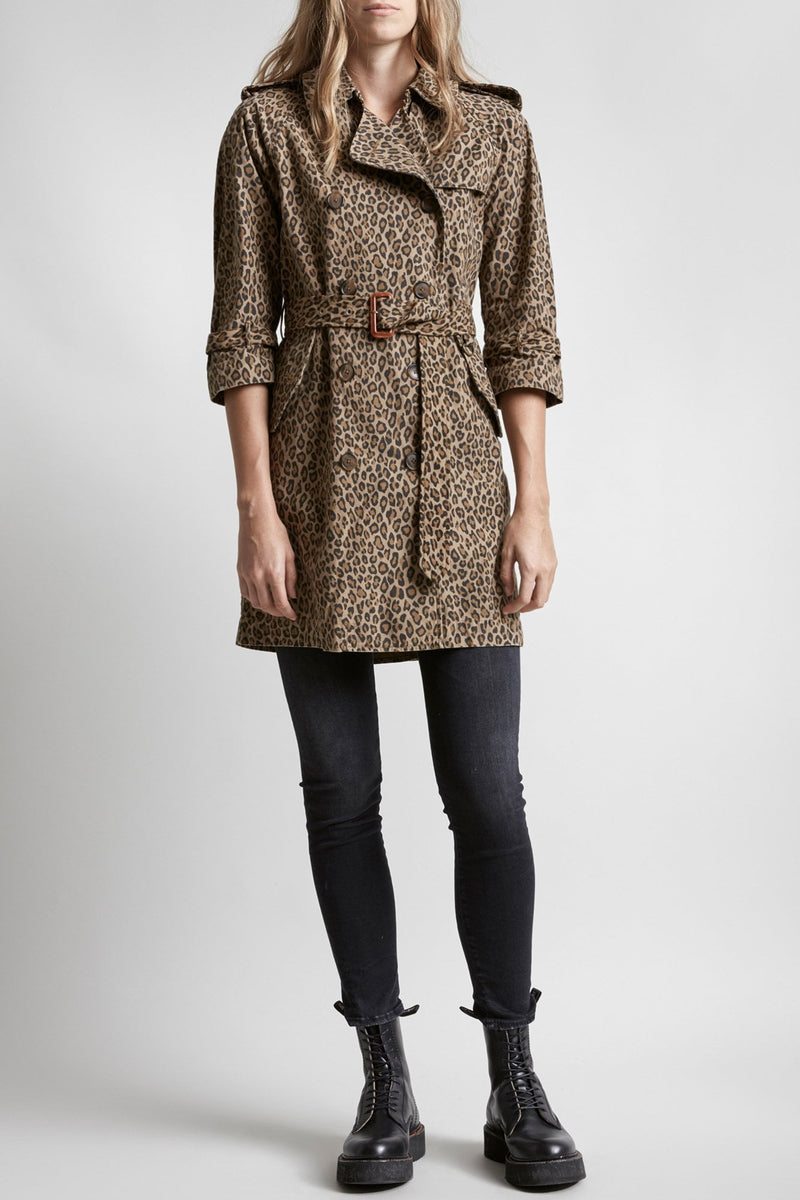 Raglan Sleeve Trench