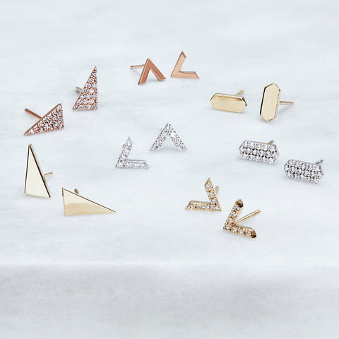 Stud earrings | Rachel Katz Jewelry