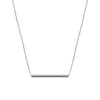 Medium Balance Necklace | White Gold
