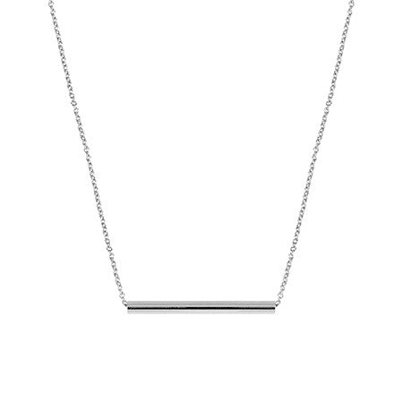 Medium Balance Necklace | 14K White Gold