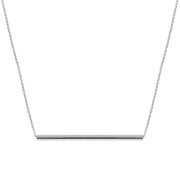Balance Necklace | White Gold