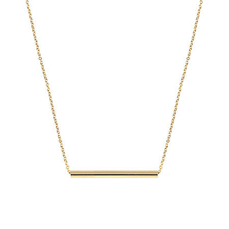 Medium Balance Necklace | 14K Yellow Gold