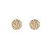 Disc Earrings | Yellow Gold