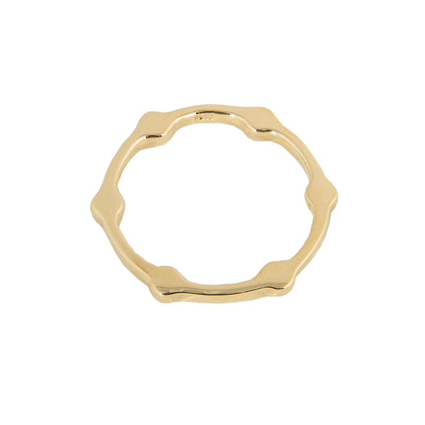 Cage Band | Yellow Gold