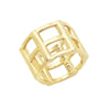 Cage Ring | Yellow Gold