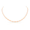 Confetti Necklace - Plain | Rose Gold