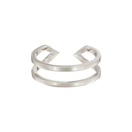 Dagger Ring | White Gold