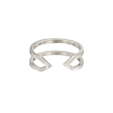 Dagger Ring | 14K White Gold