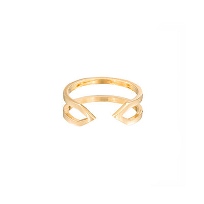 Dagger Ring - Midi | Yellow Gold