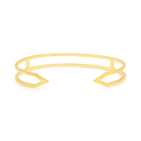 Dagger Cuff  | Yellow Gold