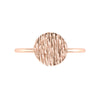 Disc Geo Stacker | Rose Gold