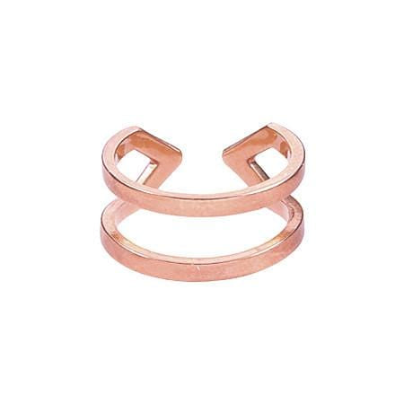 Dagger Ring  | Rose Gold with White Diamonds