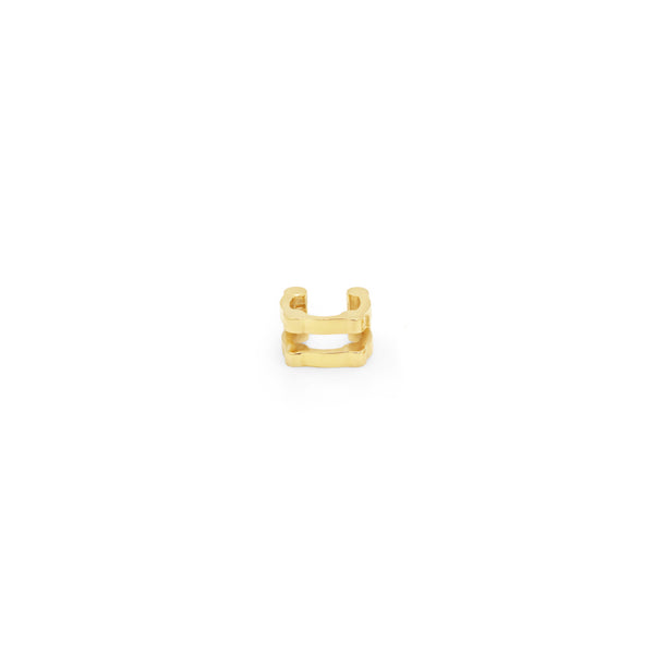 Double Cage Ear Cuff | Gold