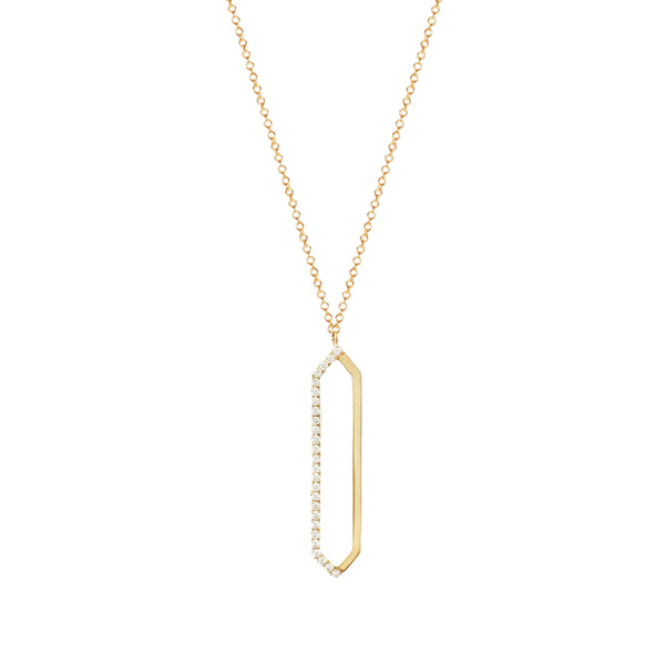 Me & You Necklace | Yellow Gold