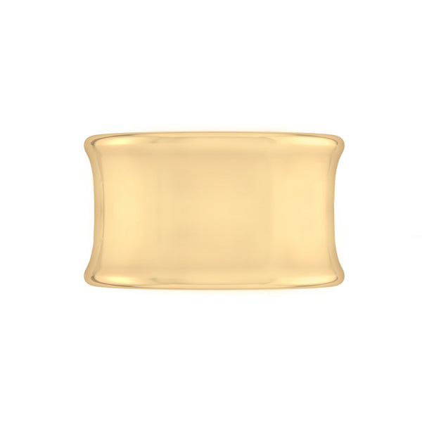 Cigar Band | Yellow Gold