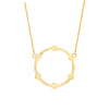 Gear Necklace | Yellow Gold