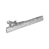 Half-Barrel Tie Bar | Sterling Silver