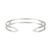 Diamond Dagger Cuff  | White Gold