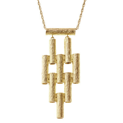 Marti Necklace | Yellow Gold