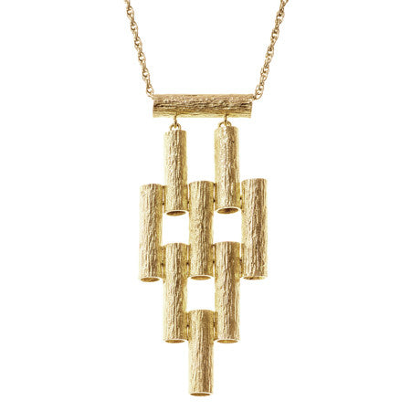 Marti Necklace | Gold