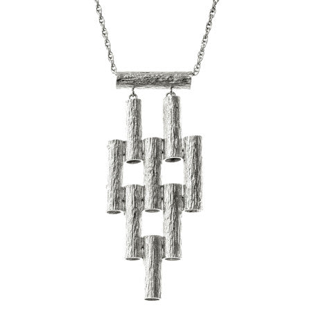 Marti Necklace | Silver