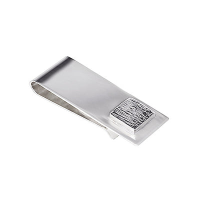Square Money Clip  | Sterling Silver