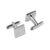 Square Cufflinks | Sterling Silver