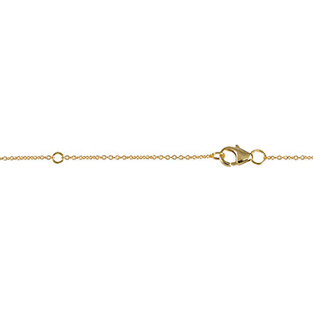 Balance Lariat | Yellow Gold