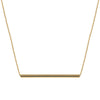 Long Balance Necklace | Yellow Gold