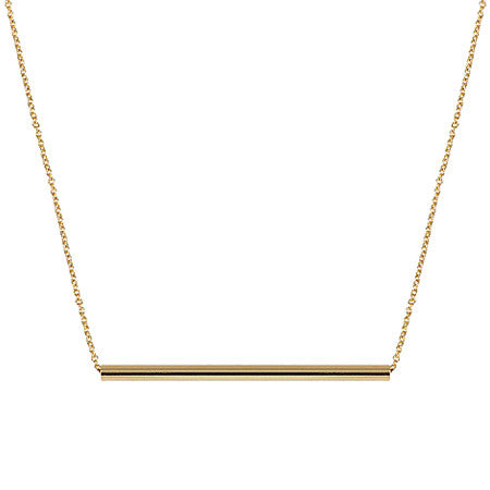 Balance Necklace | 14K Yellow Gold