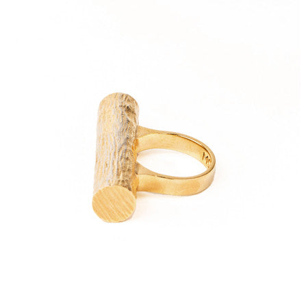 Single Tube Ring | Gold