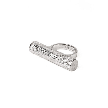 Single Tube Ring | Silver