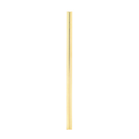 Single Long Line Earring | 14K Gold