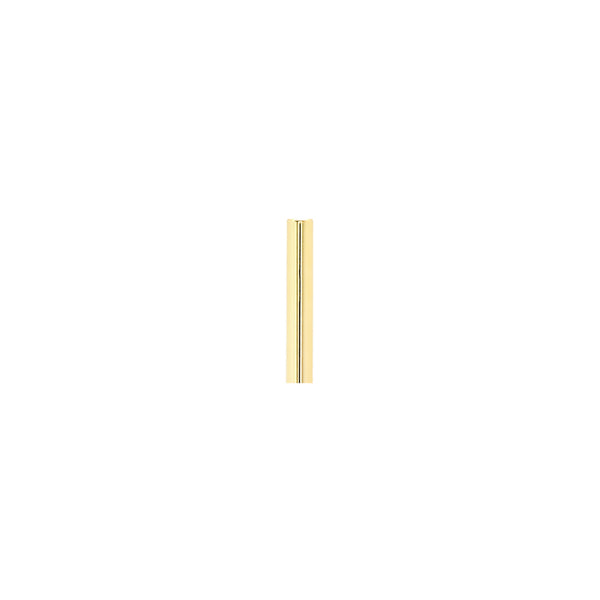 Single Mini Line Earring | 14K Gold
