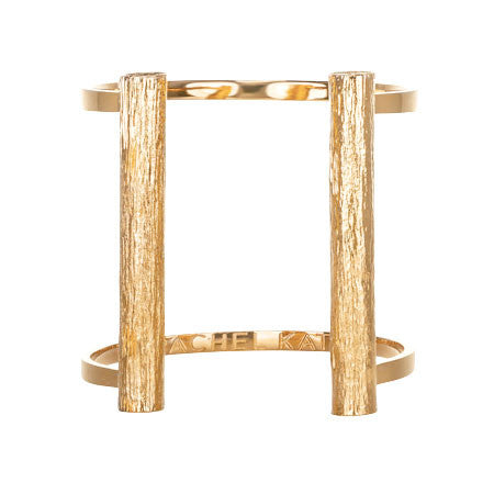Slim Bond Cuff - Long | Gold