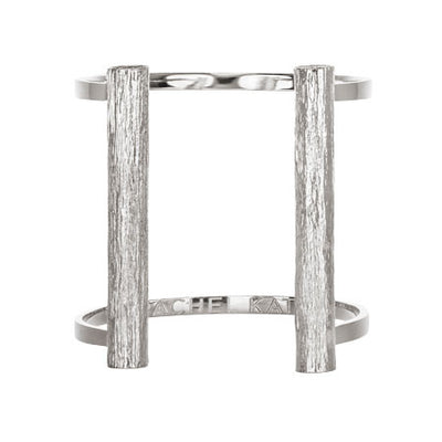 Slim Bond Cuff - Long | Silver