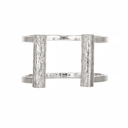 Slim Bond Cuff - Short | Silver