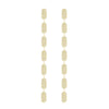 7 Tiered All Diamond Marquis Earrings | Yellow Gold  Earring Rachel Katz Jewelry