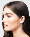 Single Cage Ear Cuff | Rose Gold