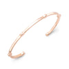 Open Gear Bangle | Rose Gold