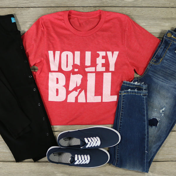 Volleyball Player tee