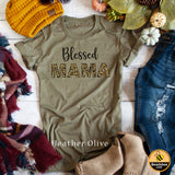Blessed Mama- Leopard Print