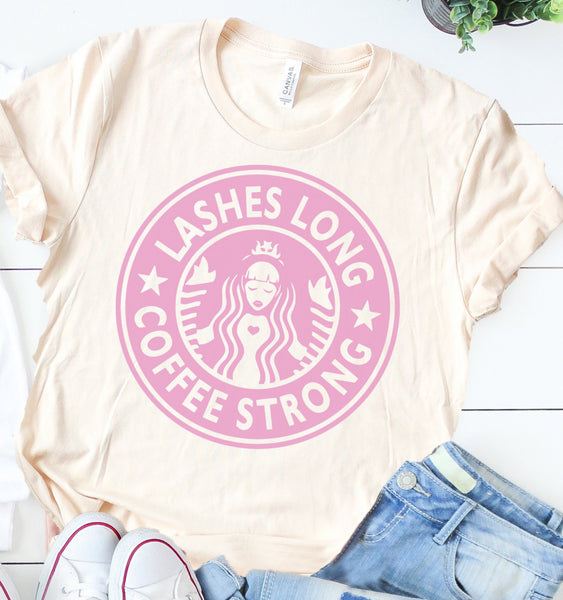 Lashes Long Coffee Strong